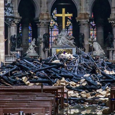 Why They Burned The Jesuit's Roman Catholic Church, Called Notre Dame?