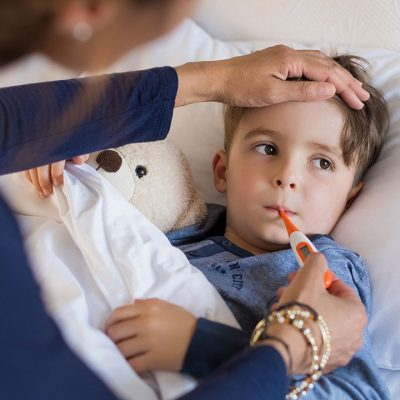 How Can I Reduce My Child's Fever Without Using Medicine?
