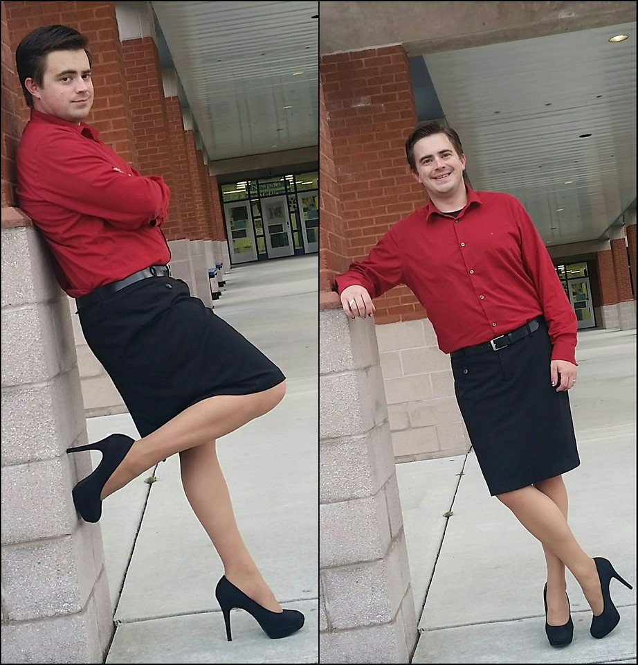 guys in dresses and heels