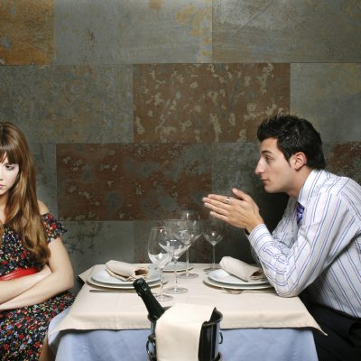 Things you should never say to a woman on a first date
