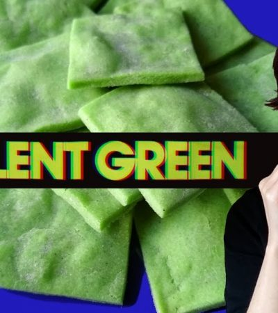 Eating SOYLENT GREEN? Are we living in the movie?