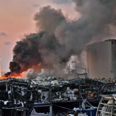 Massive Explosion In Lebanon – God is With You Beirut!