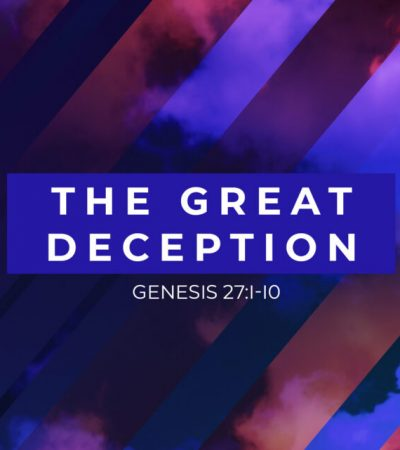 The Great Deception approaches…