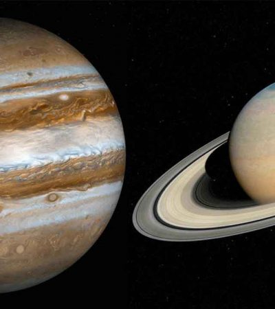 Saturn & Jupiter to overlap for the first time in nearly 800 years