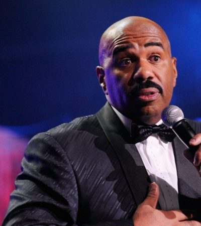 Steve Harvey promoting ONE WORLD RELIGION