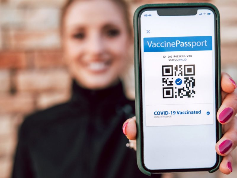 Places vaccine passport would be required & where it would not be